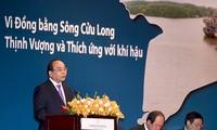 Premierminister Nguyen Xuan Phuc schätzt ausländische Hilfe für das Mekong-Delta
