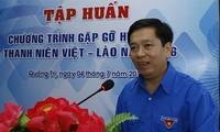 Treffen für Jugendliche Vietnams und Laos
