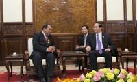 Staatspräsident empfängt kambodschanischen Botschafter zum Ende seiner Amtszeit
