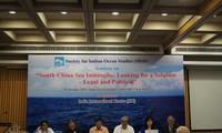 Seminar über Lage im Ostmeer in Indien