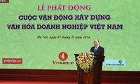 Premierminister Nguyen Xuan Phuc: Unternehmenskultur ist Seele einer Marke
