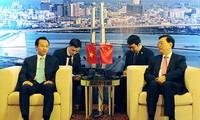 Vorsitzender des Nationalen Volkskongresses Chinas Zhang Dejiang besucht Da Nang