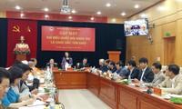 Religionskommission der Regierung trifft Würdenträger, die Parlamentarier der 14. Legislaturperiode