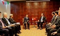 Staatspräsident Tran Dai Quang trifft Indonesiens Vizepräsident Jusuf Kalla