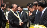Eröffnung des Gipfels des Entwicklungsdreiecks Kambodscha-Laos-Vietnam