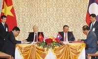 Gemeinsame Erklärung Vietnams und Laos