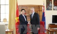 Vizepremierminister, Außenminister Pham Binh Minh besucht Neuseeland