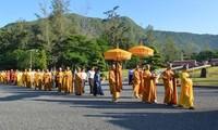 Gedenkfeier für gefallene Soldaten auf Con Dao
