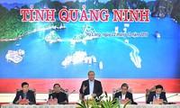 Quang Ninh soll sich zu einem wichtigen Wirtschaftsgebiet im Nordwesten des Landes entwickeln