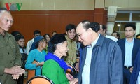 Premierminister Nguyen Xuan Phuc besucht Tra Linh in Cao Bang