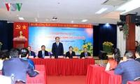 Staatspräsident Tran Dai Quang trifft Auslandsvietnamesen
