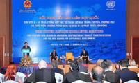 Verstärkung der Zusammenarbeit in Begünstigungen für Logistik und Handel