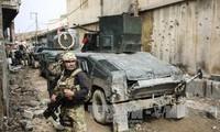 Irakische Truppen kämpfen mit IS in der alten Zitadelle von Mossul