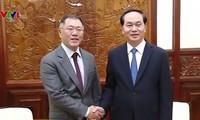 Staatspräsident trifft Vizevorsitzenden des südkoreanischen Konzerns Hyundai