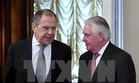 Außenminister Russlands und der USA wollen Meinungsverschiedenheiten bei Syrien-Problem lösen