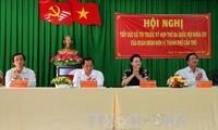 Parlamentspräsidentin trifft Wähler im Cai Rang-Stadtviertel in Can Tho