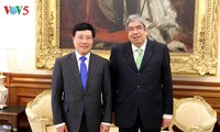 Vizepremierminister Pham Binh Minh trifft Portugals Parlamentspräsident Rodrigues