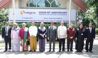Feier zum 50. Gründungstag der ASEAN in Dhaka