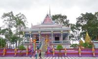 Pagoden der Khmer in Soc Trang