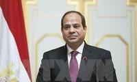 Ägyptens Präsident ruft zu einer gleichberechtigten Lösung für den Palästina-Israel-Konflikt auf