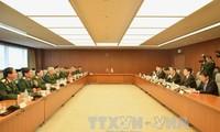 Politikdialog zur Verteidigung zwischen Vietnam und Japan