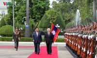 Beziehungen zwischen Vietnam und Laos sind immer enger geworden