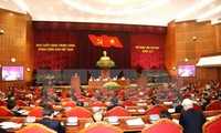 5. Arbeitstag der 6. Sitzung des Zentralkomitees der KPV