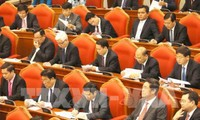 6. Arbeitstag der Sitzung des Zentralkomitees der KPV
