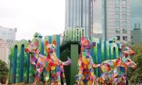 Ho Chi Minh Stadt eröffnet Blumenstraße zum Neujahr 2018