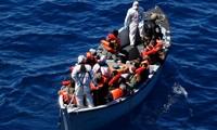 从土耳其偷渡到希腊的难民不断增加