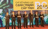岘港市继续居2015年省级竞争力指数排行榜首位
