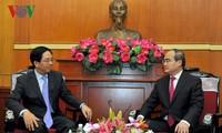 越南是中国在东盟中的大型贸易伙伴