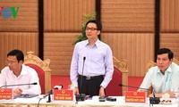 武德担检查北宁省食品安全保障工作