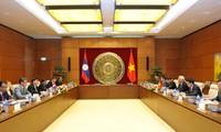 越老两国国会加强双边合作