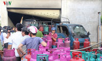 9月胡志明市12公斤罐装煤气价格上涨6000越盾