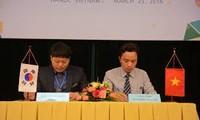 越南与韩国讨论促进贸易投资合作的措施