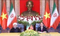 越南和伊朗发表联合声明