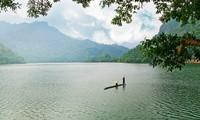 三海湖的美