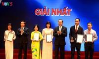 VOV đạt 7 giải thưởng toàn quốc về thông tin đối ngoại năm 2016