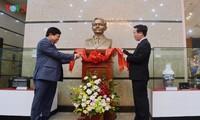 Đài Tiếng nói Việt Nam khánh thành tượng nhà báo Trần Lâm