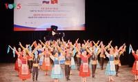 Mãn nhãn với màn trình diễn đêm khai mạc Những ngày văn hóa Nga tại Việt Nam