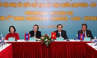Conférence présidentielle des Fronts de la Patrie Vietnam-Laos-Cambodge
