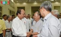 Nguyen Xuan Phuc rencontre l'électorat de la ville de Hai Phong
