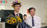 Nguyen The Quynh, médaillé aux olympiades internationales de physique