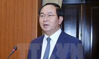 APEC 2017 : Tran Dai Quang plaide pour un engagement plus fort des ministères et services compétents