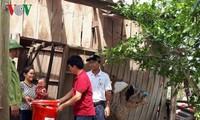 Doksuri: la Croix rouge offre 1,5 milliards de dongs aux sinistrés