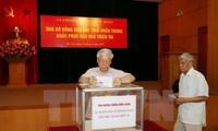 Typhon Doksuri : des aides accordées aux sinistrés du Centre