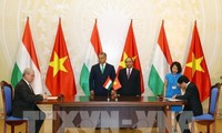 Déclaration commune Vietnam-Hongrie