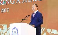 Tran Dai Quang à l'inauguration du Sommet des dirigeants d'entreprises de l'APEC 2017