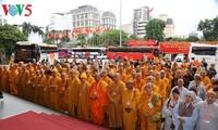 Le 8ème congrès national de l'église bouddhique du Vietnam s'ouvrira mardi